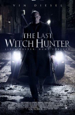 The Last Witch Hunter - Theatrical release poster