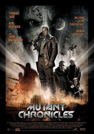 Mutant Chronicles (film) - Theatrical release poster