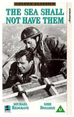 The Sea Shall Not Have Them - VHS movie cover