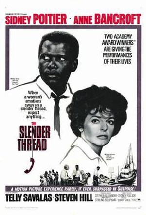 The Slender Thread - 1965 Theatrical Poster
