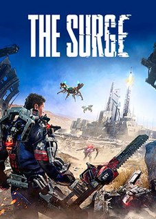 <i>The Surge</i> (video game) science fiction action role-playing game video game developed by Deck13 Interactive