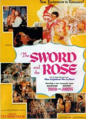 The Sword and the Rose - Theatrical release poster