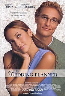 <i>The Wedding Planner</i> 2001 film by Adam Shankman