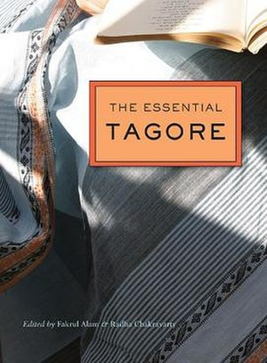 The Essential Tagore - The cover image of the Essential Tagore (Harvard edition).