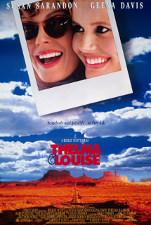 <i>Thelma & Louise</i> 1991 drama movie directed by Ridley Scott