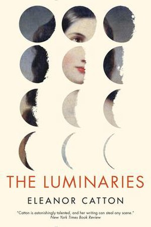 The Luminaries - First hardcover edition