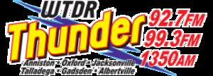 WTDR (AM) - Image: Thunder WTDR