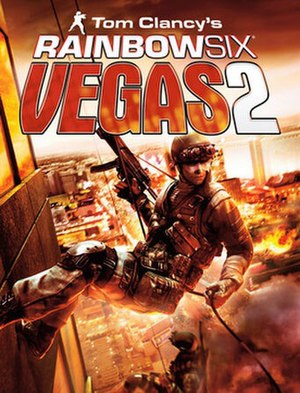 Tom Clancy's Rainbow Six: Vegas 2 - Image: Tom Clancy Rainbow Six Vegas 2 Game Cover