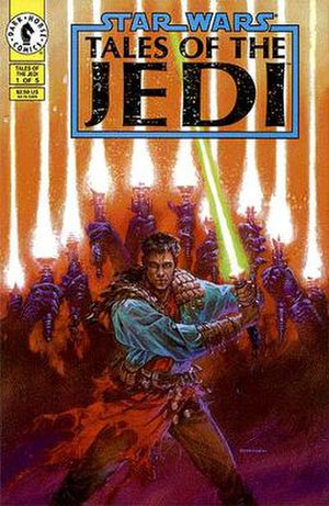 Tales of the Jedi: Knights of the Old Republic - Issue one of the series. Art by Dave Dorman