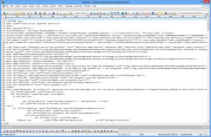 UltraEdit - Screen of UE Version 15