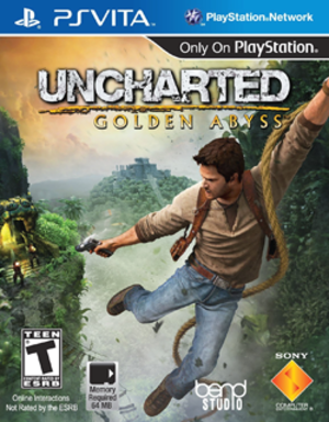 Uncharted: Golden Abyss - North American cover art