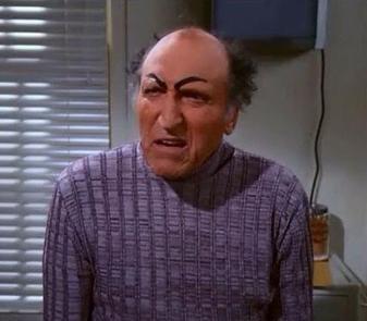 Uncle Leo - eyebrows