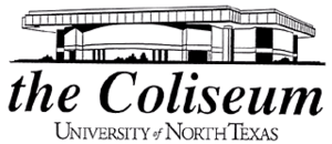 UNT Coliseum - Image: University of North Texas Coliseum Logo