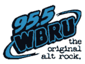 WBRU - logo used from the early 2000s until late 2009
