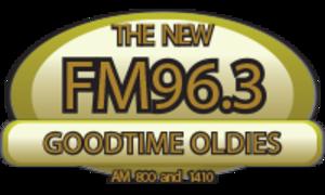WCHA (AM) - Image: WCHA thenew FM96.3 logo