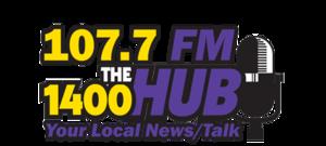 WHUB - Image: WHUB 107.7 1400thehub logo