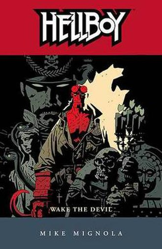 Hellboy: Wake the Devil - Cover to the trade paperback Art by Mike Mignola