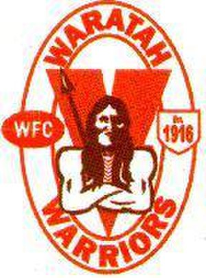 Waratah Football Club - Image: Waratahlogo