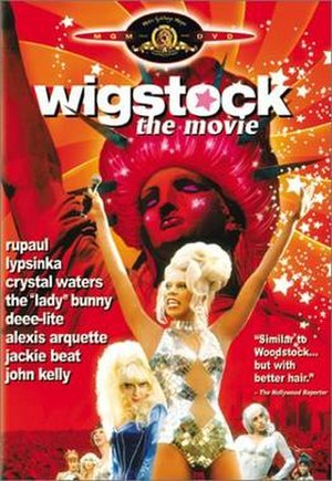 Wigstock: The Movie - Theatrical release poster
