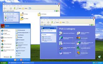Windows NT startup process - Windows XP default shell.