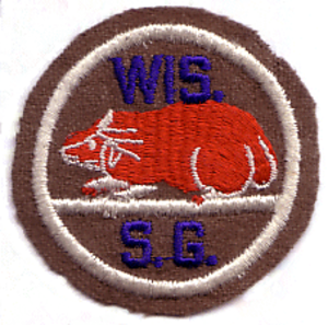 Wisconsin State Defense Force - The shoulder patch worn by Wisconsin State Guard soldiers during World War II.