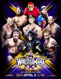 WrestleMania XXX 2014 WWE pay-per-view and WWE Network event