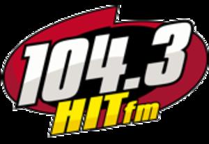 XHTO-FM - Image: XHTO 104.3HITfm logo