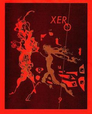 Xero (SF fanzine) - Image: Xero 9cover