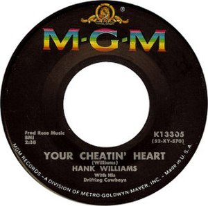 Your Cheatin' Heart - Image: Your Cheatin' Heart by Hank Williams (cover)