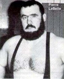 Yvon Cormier Canadian professional wrestler