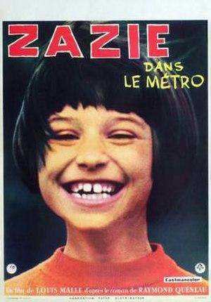 Zazie dans le Métro - Film poster