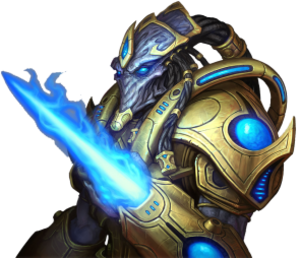 Races of StarCraft - Image: Zealot (Star Craft)
