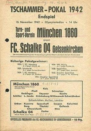 1942 Tschammerpokal Final - Image: 1942 Tschammerpokal Final programme