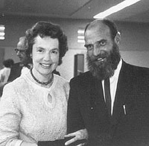Eleanor Cameron - Cameron and Leonard Wibberley in 1965