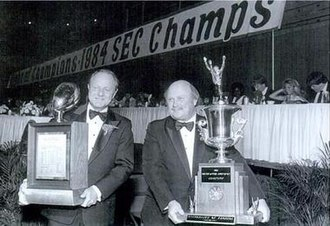 1984 Florida Gators football team - Image: 1984Gatorsceremony