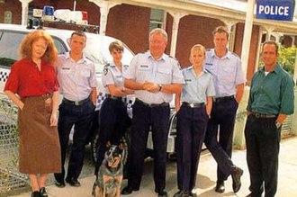 Blue Heelers (season 5) - Image: 1998cast