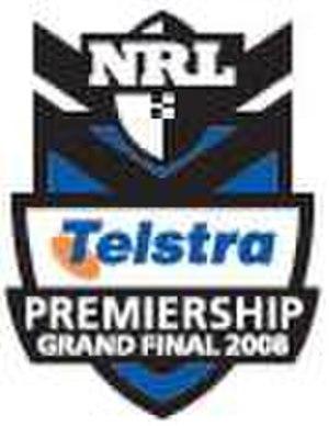 2008 NRL Grand Final - Image: 2008NRLGrand Final Logo
