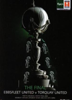 2008 FA Trophy Final - Image: 2008 FA Trophy Final