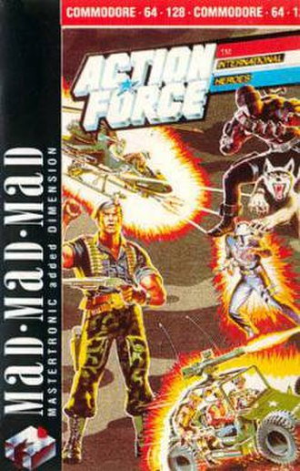 Action Force (video game) - Image: Action Force Cover