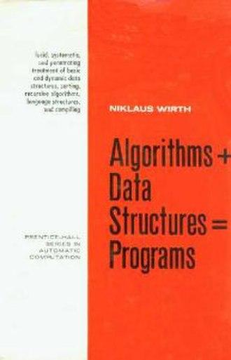 Algorithms + Data Structures = Programs - Image: Algorithms + Data Structures