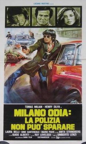 Almost Human (1974 film) - Italian film poster