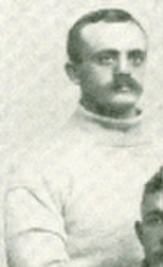 A. W. Shepard - Shepard in his 1889 Cornell football team photo