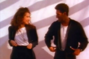 Baby Baby (Amy Grant song) - Grant singing and dancing along with her on-screen love interest
