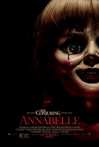 Annabelle (film) - Theatrical release poster
