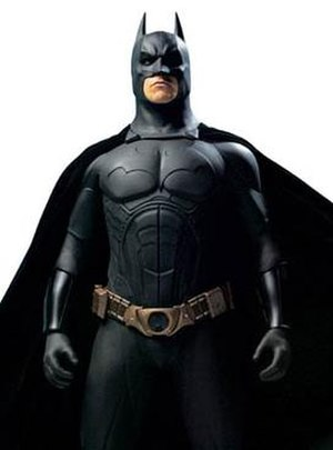 Batman Begins - Image: Bale as Batman