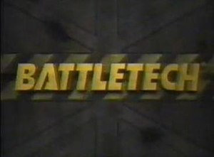 BattleTech: The Animated Series - Title card to the series.