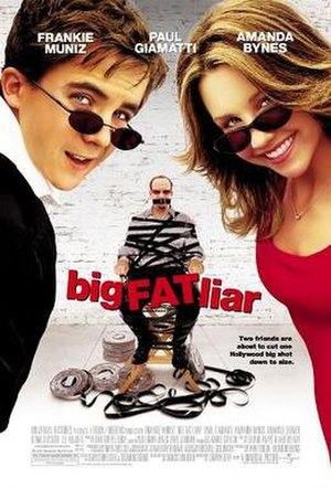 Big Fat Liar - Theatrical release poster
