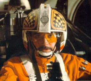 Rogue Squadron - Garrick Hagon as Biggs Darklighter in Star Wars: A New Hope