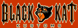 Black Kat Kustoms - The Black Kat Kustoms logo.