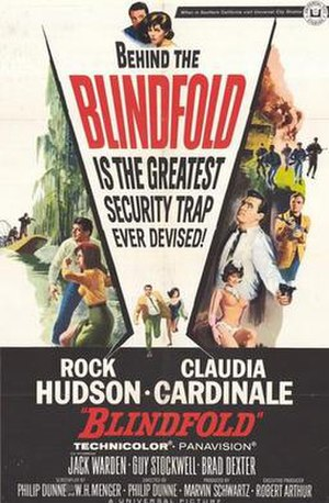 Blindfold (film) - Film poster by Joseph Smith